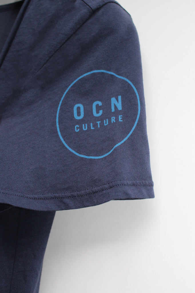 Organic The Blank VNeck - Navy