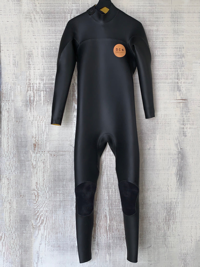 NEW!  Mens Gradus Retro Smoothie 4/3MM Wetsuit Black