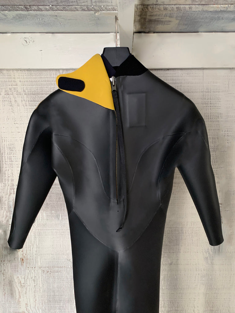 Mens Gradus Retro Wetsuit - Smooth Skin 3MM Black