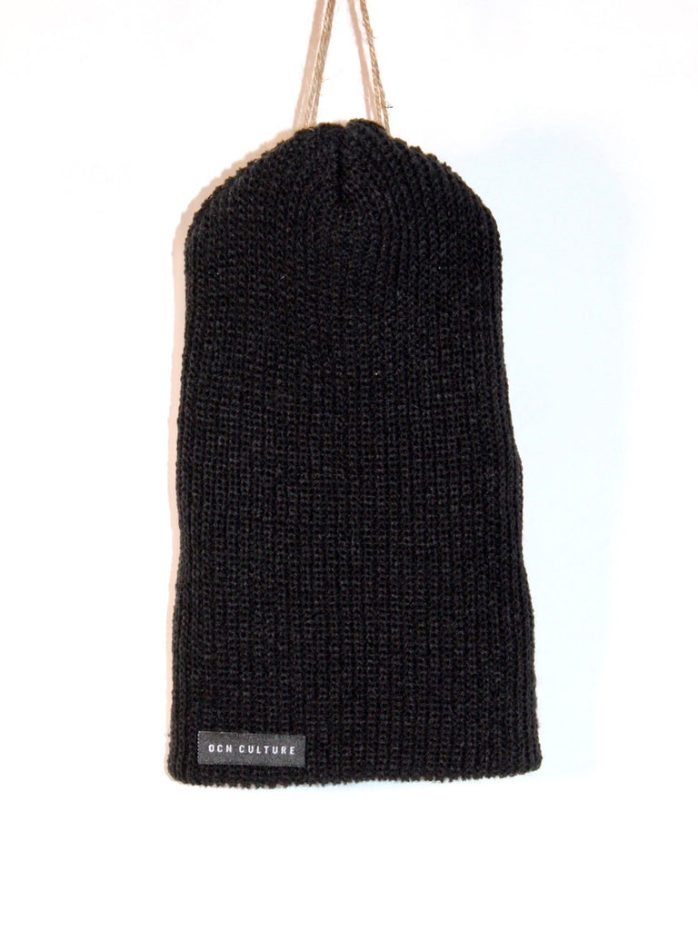 OCN Slouch The Venice Black Beanie
