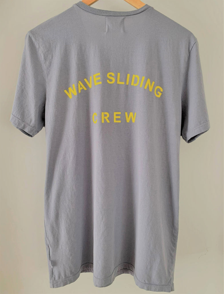 Summer Daze Organic T-Shirt - Wave Sliding Crew