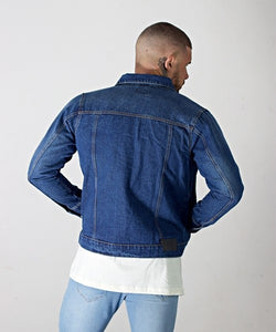 Dark Blue washed Denim Jacket