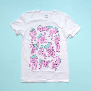 White Naked Ladies Tee LAST CHANCE TO GET!