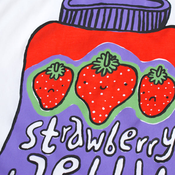 Double Peanut Butter and Jelly Test Tee Size M