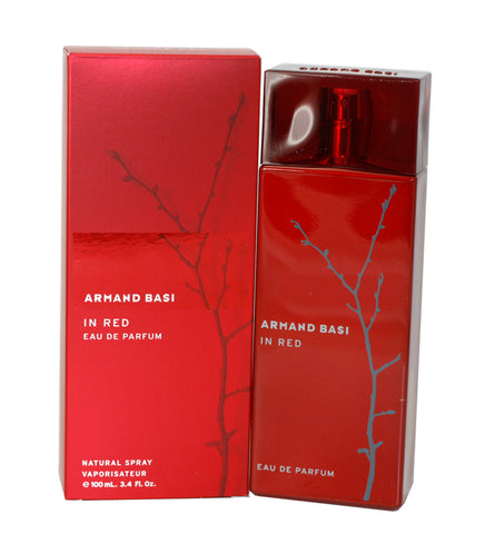 ARM34 - Armand Basi In Red Eau De Parfum for Women - 3.4 oz / 100 ml Spray