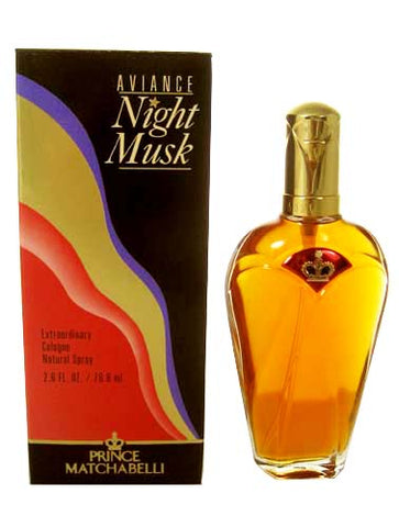 AVI10W-F - Aviance Night Musk Cologne for Women - Spray - 2.6 oz / 75 ml