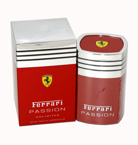 FEP17 - Ferrari Passion Unlimited Eau De Toilette for Men - Spray - 1.7 oz / 50 ml