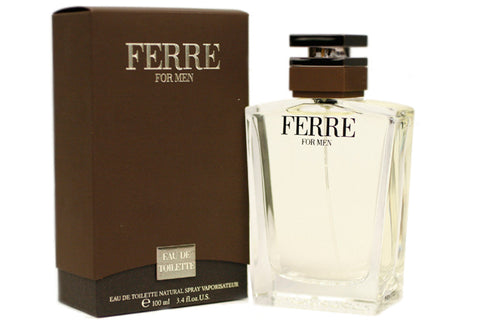 FER17M - Ferre Eau De Toilette for Men - Spray - 3.4 oz / 100 ml
