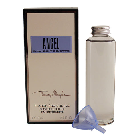 AN156 - Angel Eau De Toilette for Women - Splash - 2.7 oz / 80 ml - Refill