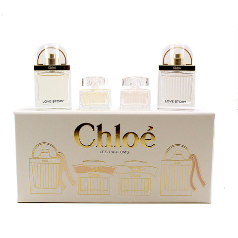 CLP42 - Chloe Les Parfums 4 Pc. Gift Set For Women