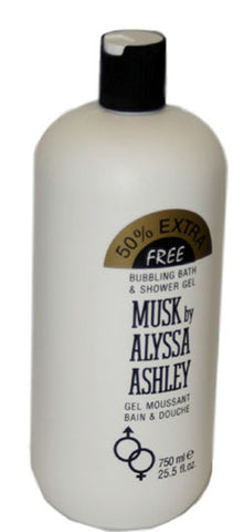 AL69 - Alyssa Ashley Alyssa Ashley Musk Bath & Shower Gel for Women 25.2 oz / 750 g