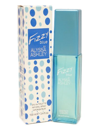ALFB67 - Alyssa Ashley Fizzy Blue Eau De Toilette for Women - 3.4 oz / 100 ml Spray