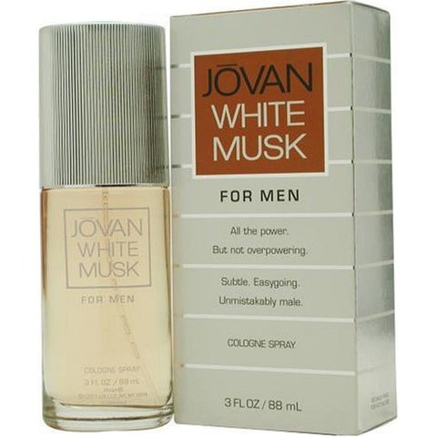JO66M - Jovan White Musk Cologne for Men - 3 oz / 88 ml Spray