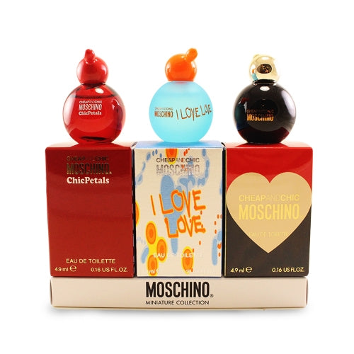 MOS51 - Moschino Miniature Collection 3 Pc. Gift Set for Women