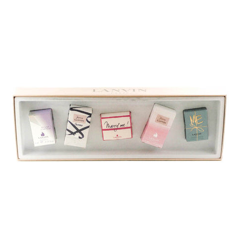 LAN30 - Lanvin Miniatures Collection 5 Pc. Gift Set for Women
