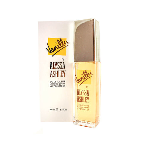 ALV34 - Alyssa Ashley Vanilla Eau De Toilette for Women - 3.4 oz / 100 ml Spray
