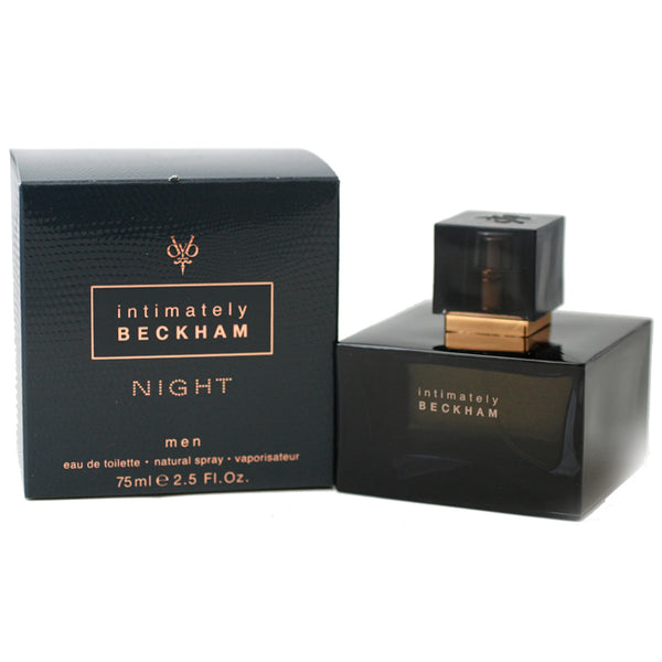DBN20M - Intimately Beckham Night Eau De Toilette for Men - Spray - 2.5 oz / 75 ml