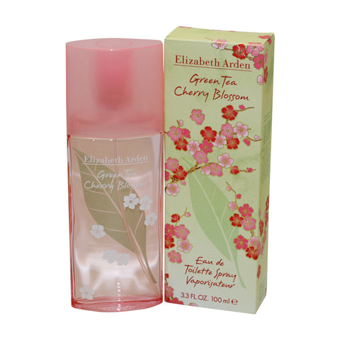 GCB33 - Green Tea Cherry Blossom Eau De Toilette for Women - 3.3 oz / 100 ml Spray