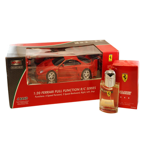 FE45M - Scuderia Ferrari Red 2 Pc. Gift Set for Men