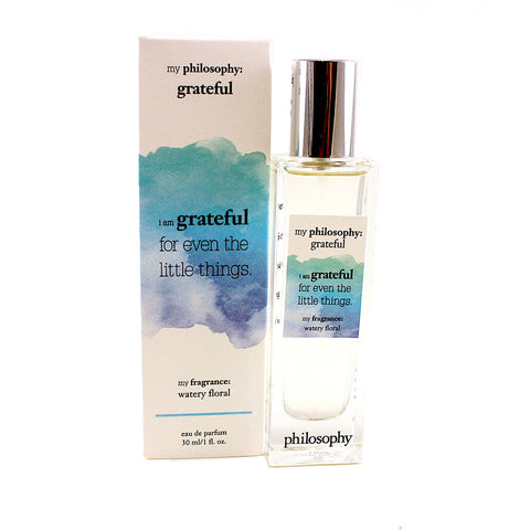 MPHGR01 - My Philosohy Grateful Eau De Parfum for Women - 1 oz / 30 ml Spray