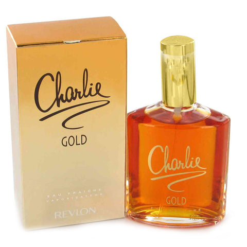 CH588 - Charlie Gold Eau Fraiche for Women - Spray - 3.4 oz / 100 ml