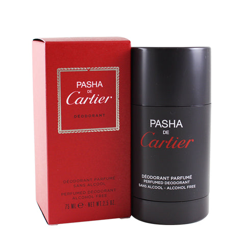 PA27M - Pasha De Cartier Deodorant for Men - 2.5 oz / 75 ml - Alcohol Free
