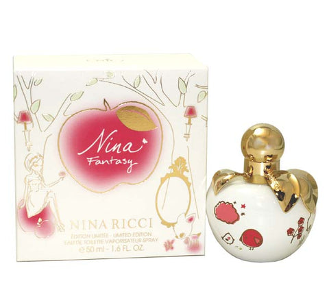 NIF16 - Nina Fantasy Eau De Toilette for Women - Spray - 1.6 oz / 50 ml - Limitied Edition