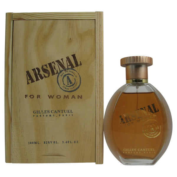 ARS10W-F - Arsenal Pink Eau De Toilette for Women - Spray - 3.4 oz / 100 ml