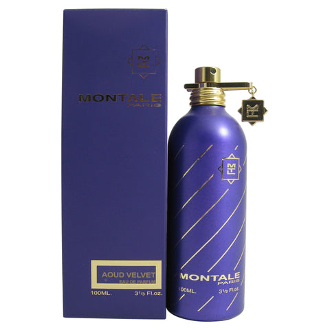 MONT91 - Montale Aoud Velvet Eau De Parfum for Unisex - Spray - 3.3 oz / 100 ml