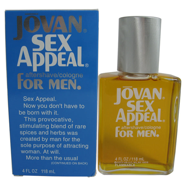 JO68M - Jovan Sex Appeal Aftershave for Men - 4 oz / 120 ml