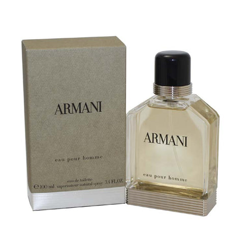 AR34M - Armani Eau De Toilette for Men - 3.4 oz / 100 ml Spray