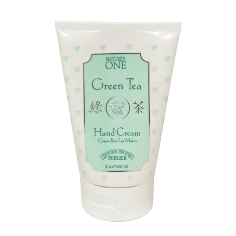 PG71W - Perlier Nature'S One Green Tea Hand Cream for Women - 4 oz / 120 g