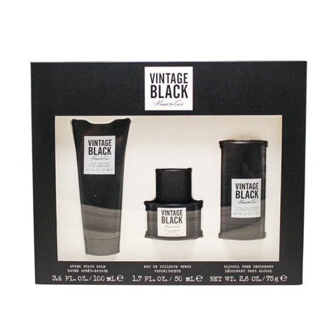BLV17M - Vintage Black 3 Pc. Gift Set for Men