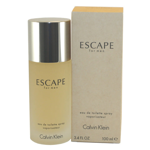 ES65M - Escape Eau De Toilette for Men - 3.4 oz / 100 ml Spray