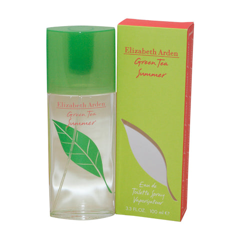 GRS23 - Green Tea Summer Eau De Toilette for Women - 3.3 oz / 100 ml Spray