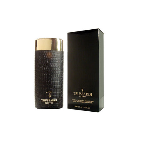 TR74M - Trussardi Uomo Shower Gel for Men - 13.34 oz / 400 ml