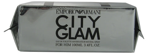 CITY12M - City Glam Eau De Toilette for Men - Spray - 3.4 oz / 100 ml