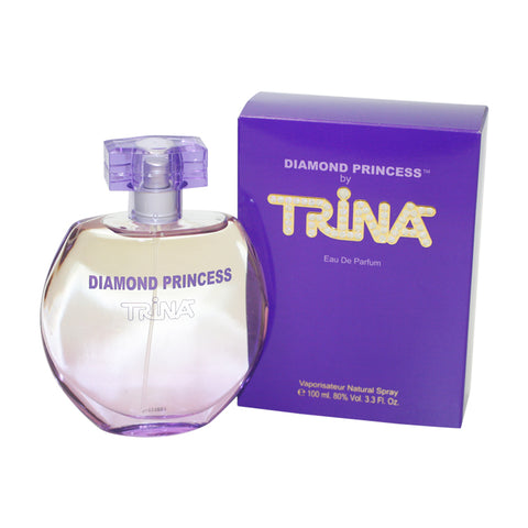 TRIN13 - Diamond Princess Eau De Parfum for Women - 3.3 oz / 100 ml Spray