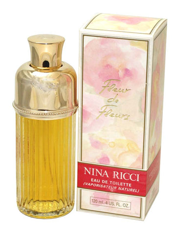 FL258 - Fleur De Fleurs Eau De Toilette for Women - Spray - 4 oz / 120 ml