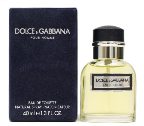 DO18M - Dolce & Gabbana Dolce & Gabbana Eau De Toilette for Men Spray - 1.3 oz / 40 ml
