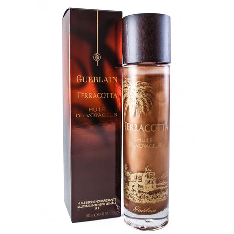 GUM55-M - Terracotta Huile De Voyageur Dry Oil for Women - SPF 8 - 3.4 oz / 100 ml
