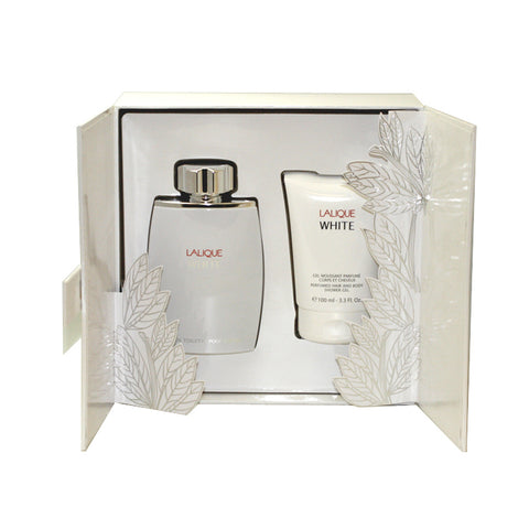 LAW59M - Lalique White 2 Pc. Gift Set for Men