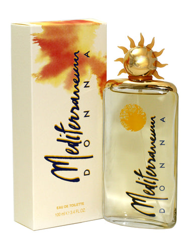 MED85-P - Mediterraneum Donna Eau De Toilette for Women - Spray - 3.4 oz / 100 ml