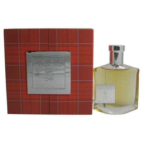 JOH91-P - John Mac Steed Original Collection Red Tartan Eau De Toilette for Men - Spray - 3 oz / 90 ml