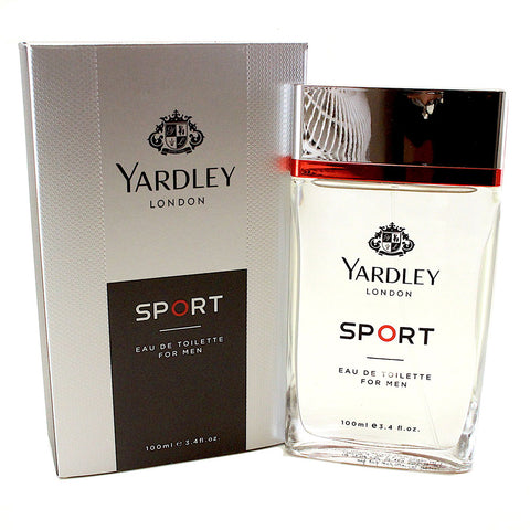 YARS15M-P - Yardley Sport Eau De Toilette for Men - 3.4 oz / 100 ml Spray