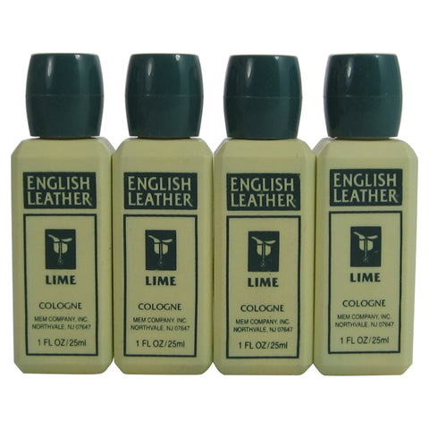 EN89M - English Leather Lime Cologne for Men - 4 Pack - 1 oz / 30 ml - Pack