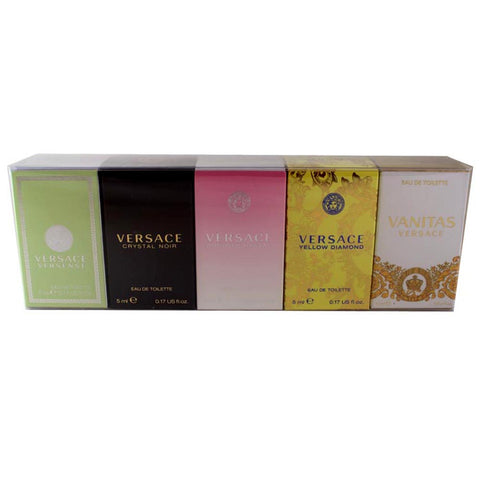 VEM51 - Versace Miniatures Collection 5 Pc. Gift Set for Women