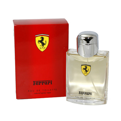 FE33M - Ferrari Red Eau De Toilette for Men - Spray - 4.2 oz / 125 ml