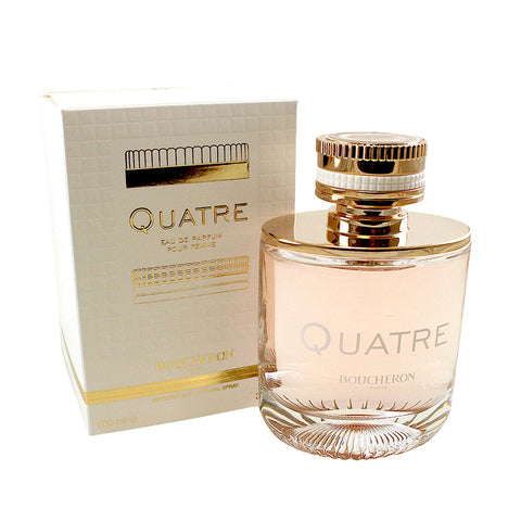 BQ34 - Boucheron Quatre Eau De Parfum for Women - 3.4 oz / 100 ml Spray