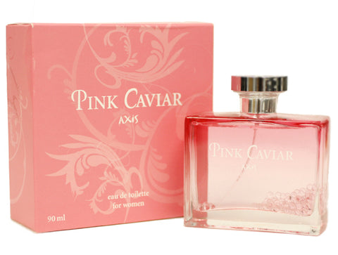 AXP14 - Axis Pink Caviar Eau De Toilette for Women - Spray - 3 oz / 90 ml
